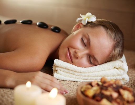 July Competition - Warm up with your chance to Win a Hot Stone Massage